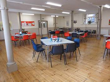hall for hire central stroud