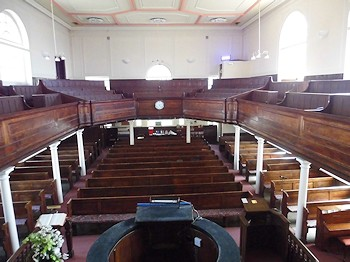 stroud church interior